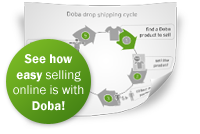 See how easy selling online is with Doba!
